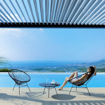Self-supporting pergola / wooden / wooden canopy / custom