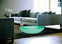 Coffee table / contemporary / polyethylene / round