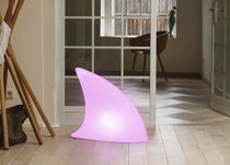 Floor lamp / original design / plastic / with rechargeable battery