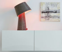 Table lamp / Scandinavian design / felt / LED