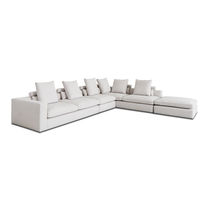 Modular sofa / corner / contemporary / for reception areas