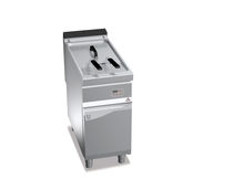 Gas fryer / floor-mounted / commercial