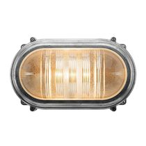 Traditional wall light / cast aluminum / glass / halogen