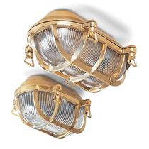 Traditional wall light / glass / halogen