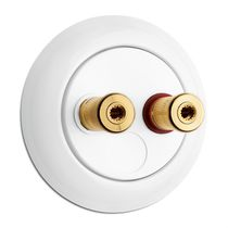 Speaker socket / multiple / wall-mounted / traditional