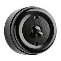 Toggle switch / Bakelite® / traditional / black