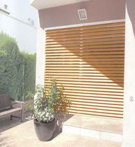 Venetian blinds / wooden / outdoor