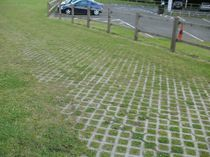 Recycled plastic paving / drive-over