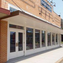 Entry door / swing / wooden / for public buildings