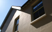 Sash window / wooden / double-glazed / thermal break