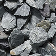 Standard gravel / crushed / for exterior fittings