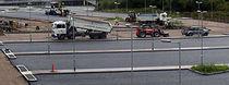 Asphalt flooring / commercial / road / for parking lots