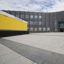 Concrete paver / pedestrian / drive-over / for public spaces