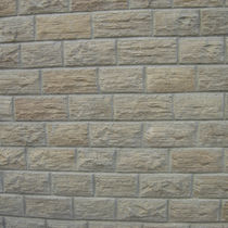 Solid concrete block / for walls / for facades / high-performance