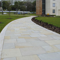 Natural stone paving slab / drive-over / pedestrian / for public spaces