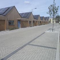 Concrete paver / permeable / drive-over / for public spaces