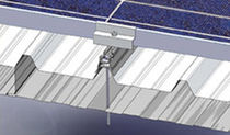 Corrugated roof mounting system / on-roof / for PV applications