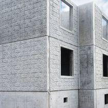 Facade sandwich panel / concrete facing / insulating core