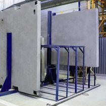 Wooden structural panel / metal / polyurethane resin / concrete