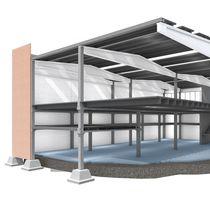 Precast footing / pocket / concrete / reinforced concrete