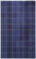Polycrystalline PV panel / standard / with aluminum frame