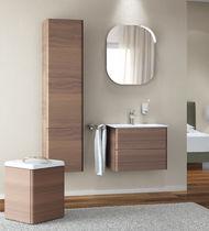 Wall-mounted bathroom mirror / contemporary