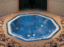 7 seater built-in hot-tub 302 Guangzhou J&J Sanitary Ware