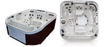 7 seater portable hot-tub CASCADE II  COAST SPAS