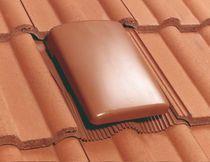 French roof tile / ventilating / terminal
