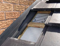 PVC roof gutter