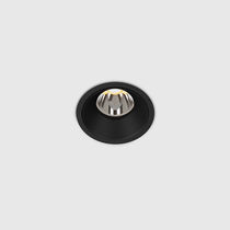 Recessed downlight / LED / round / zamak