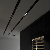 Ceiling lighting profile / built-in / LED / modular