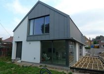 Passive house / modular / contemporary / solid wood