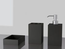 Free-standing soap dispenser / stainless steel / manual