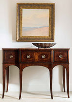 Sideboard table / rectangular / classic / tray