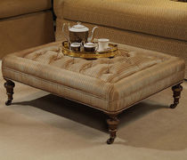Classic ottoman / fabric / indoor