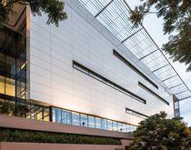 Ceramic cladding / smooth / sheet / for ventilated facades