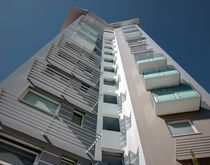 Ceramic cladding / smooth / sheet