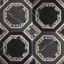 Indoor tile / for floors / glass / marble