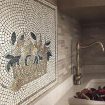 Indoor mosaic tile / wall / stone