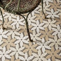 Indoor mosaic tile / floor / marble / floral