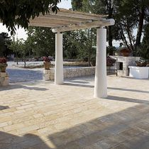 Stone paver / drive-over / pedestrian / brushed