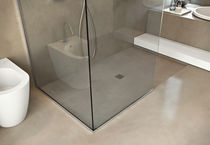 Rectangular shower base / polystyrene / extra-flat