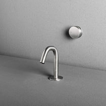 Bidet mixer tap / built-in / stainless steel / bathroom