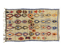 Traditional rug / patterned / wool / rectangular