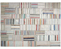 Contemporary rug / patterned / cotton / rectangular