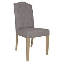 Traditional chair / upholstered / fabric