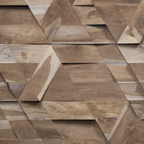 Wooden wallcovering / residential / for offices / commercial