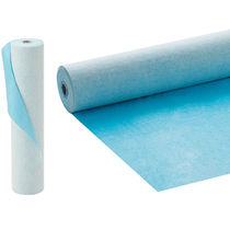 Flooring screed waterproofing membrane / protection / roll / synthetic