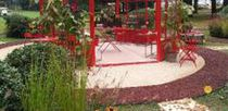 Marble gravel / for landscaping / crushed